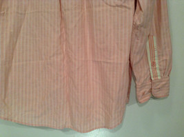 Indigo Palms Denim Company Long Sleeve Pink with Stripe Pattern Size M Shirt image 6
