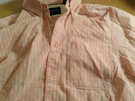 Indigo Palms Denim Company Long Sleeve Pink with Stripe Pattern Size M Shirt image 9