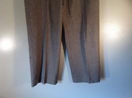 Incotex Light Brown Dress Pants Zipper Button Front Closure Size 50 Wool Blend image 3