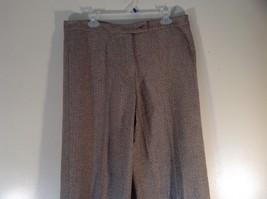 Incotex Light Brown Dress Pants Zipper Button Front Closure Size 50 Wool Blend image 2