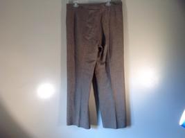 Incotex Light Brown Dress Pants Zipper Button Front Closure Size 50 Wool Blend image 6