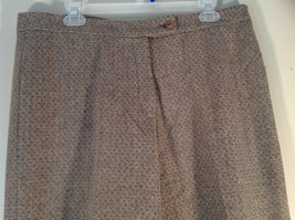 Incotex Light Brown Dress Pants Zipper Button Front Closure Size 50 Wool Blend image 4