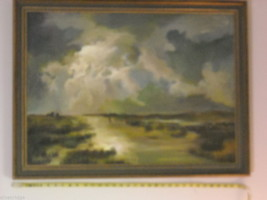 Marsh Landscape Oil Painting by Waltch image 2