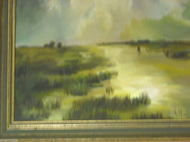 Marsh Landscape Oil Painting by Waltch image 4