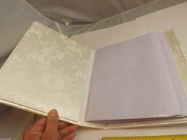 Ivory Bridal Photo Album and Bridal Garter Belt image 2