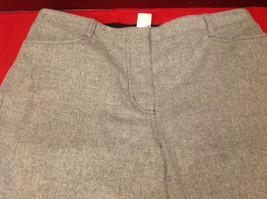 J. Crew Heather Gray Ladies Long Dress Pants Size P10 image 7