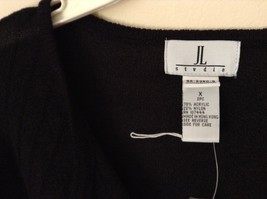 J L Studio Black Cardigan Two Piece Black Belt Long Sleeve Measurements Below image 2