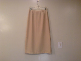 J G Hook Jacket and Skirt Set Size 8 Cream Fully Lined 100 Percent Polyester image 5