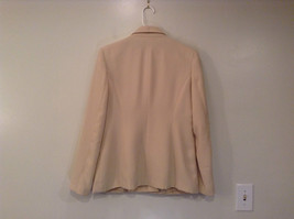 J G Hook Jacket and Skirt Set Size 8 Cream Fully Lined 100 Percent Polyester image 4