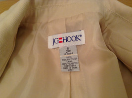 J G Hook Jacket and Skirt Set Size 8 Cream Fully Lined 100 Percent Polyester image 8