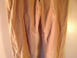 J McLaughlin Size 12 Light Brown Corduroy Pants Made in USA Good Condition image 3