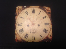 Ja Anderfon Wrst Haven Old World Clock Coaster Set of Four image 3