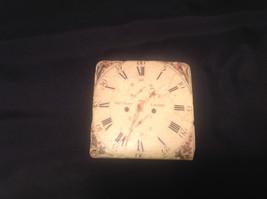 Ja Anderfon Wrst Haven Old World Clock Coaster Set of Four image 2
