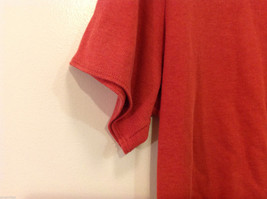 JM Woman Collection Stretch Calm Red Scoop Neck Classic T-shirt, Size 1X image 7