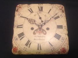 Ja Anderfon Wrst Haven Old World Clock Coaster Set of Four image 5