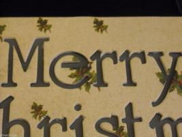 Merry Christmas Lit Box Sign image 3