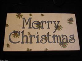 Merry Christmas Lit Box Sign image 2