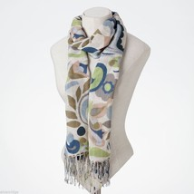 Jim Shore Gracie Butterfly Paisley Scarf in Soft Viscose image 2
