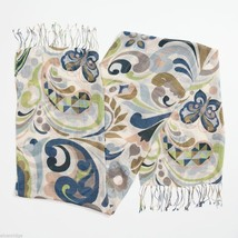 Jim Shore Gracie Butterfly Paisley Scarf in Soft Viscose image 3