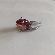 Micro Miniature small hand blown glass Fancy Squid made USA NIB image 3