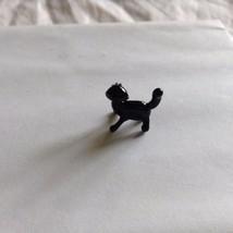 Micro Miniature small hand blown glass BLACK cat  made USA NIB image 3