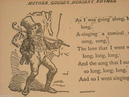 Jolly Jingles from Mother Goose Antique Children's Hard Cover Book image 8