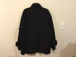 Johnson Woolen Mills Mens Black Coat Size Unknown, See Measurements image 4