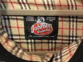 Johnson Woolen Mills Mens Black Coat Size Unknown, See Measurements image 5