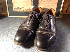 Johnston and Murphy Optimum Dress Shoes Size 11.5 Made in USA image 2