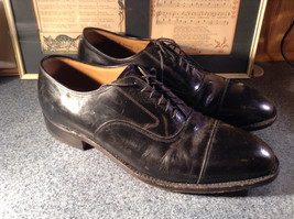 Johnston and Murphy Optimum Dress Shoes Size 11.5 Made in USA image 3