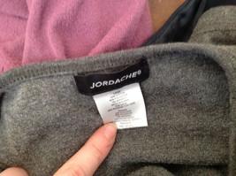Jordache Gray V Neck Long Sleeve Shirt Made in Korea Size Large image 7