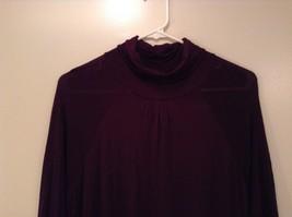 Julies Closet Long Turtleneck Dress Long Sleeves Size Medium image 3