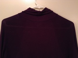 Julies Closet Long Turtleneck Dress Long Sleeves Size Medium image 5