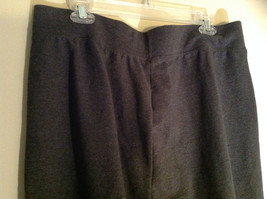 Just My Size Dark Gray Sweatpants with Two Pockets Elastic Waistband Size 2X image 6