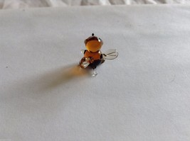 Micro Miniature small hand blown glass made USA bumblebee image 2