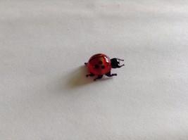 Micro Miniature small hand blown glass made USA cute ladybug image 3