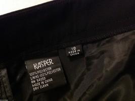 Kasper Womans Black Dress Pants, Size 18 image 5