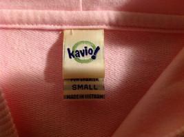 Kavio Pink Los Angeles Zip Up Long Sleeves Hoodie Jacket Size Small image 7