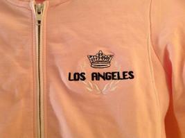 Kavio Pink Los Angeles Zip Up Long Sleeves Hoodie Jacket Size Small image 5