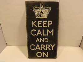 Keep Calm and Carry On Home Decor Sign image 3