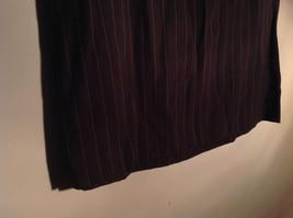 Kenar Brown with Pink Stripes Skirt Back Zipper Closure Belt Loops Size 4 image 3