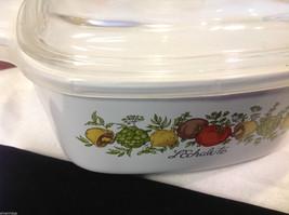 Kitchen ware w vegetable pattern 3 casseroles lids pan coffee pot vintage image 11
