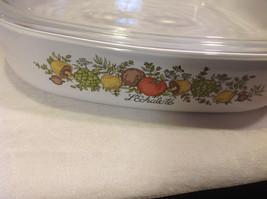Kitchen ware w vegetable pattern 3 casseroles lids pan coffee pot vintage image 12