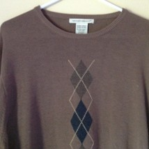 Knightsbridge Long Sleeve Brown Sweater Size XL image 2