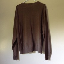 Knightsbridge Long Sleeve Brown Sweater Size XL image 6