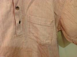 Kumbaya Mens short sleeve casual shirt multicolored stripes, size 40 image 2