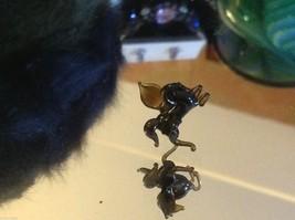 Micro miniature small hand blown glass flying horse pegasus USA made NIB image 6