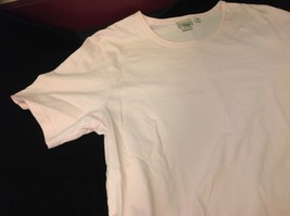 L Bean short sleeve shirt light pink size medium for women image 2