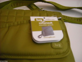 LUG Somersault Cross Body Purse Grass Green image 4