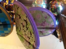 Ladies petite clutch set 2 w satin pattern fan nesting perfect 4 luncheons image 2
